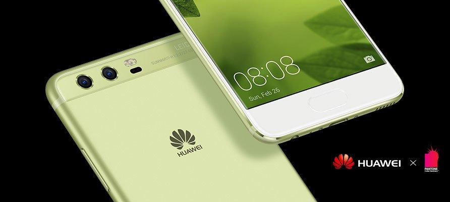 The Huawei P10 comes in a variety of appealing colours.