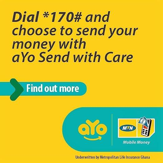 MTN aYo Send with Care: Cushion your loved ones.