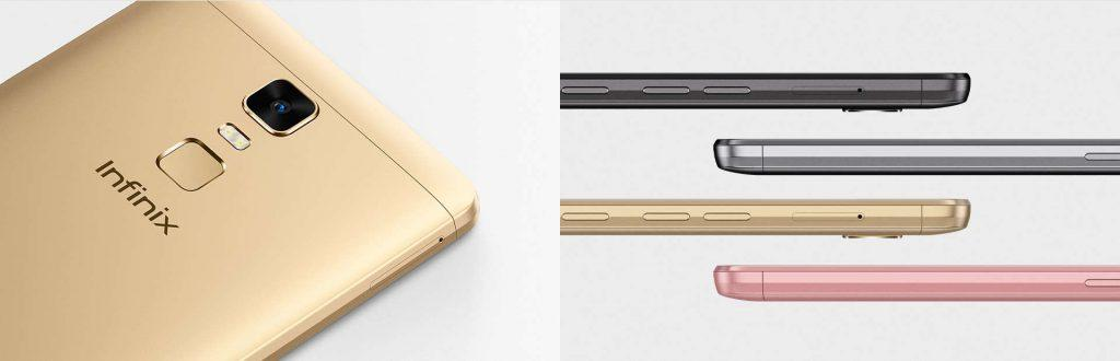 Infinix Note 3 Pro comes in a wide variety of colours