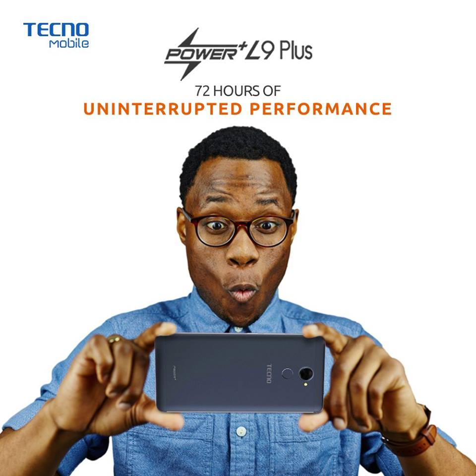 The Tecno L9 Plus can provide up to 72 hours of power.