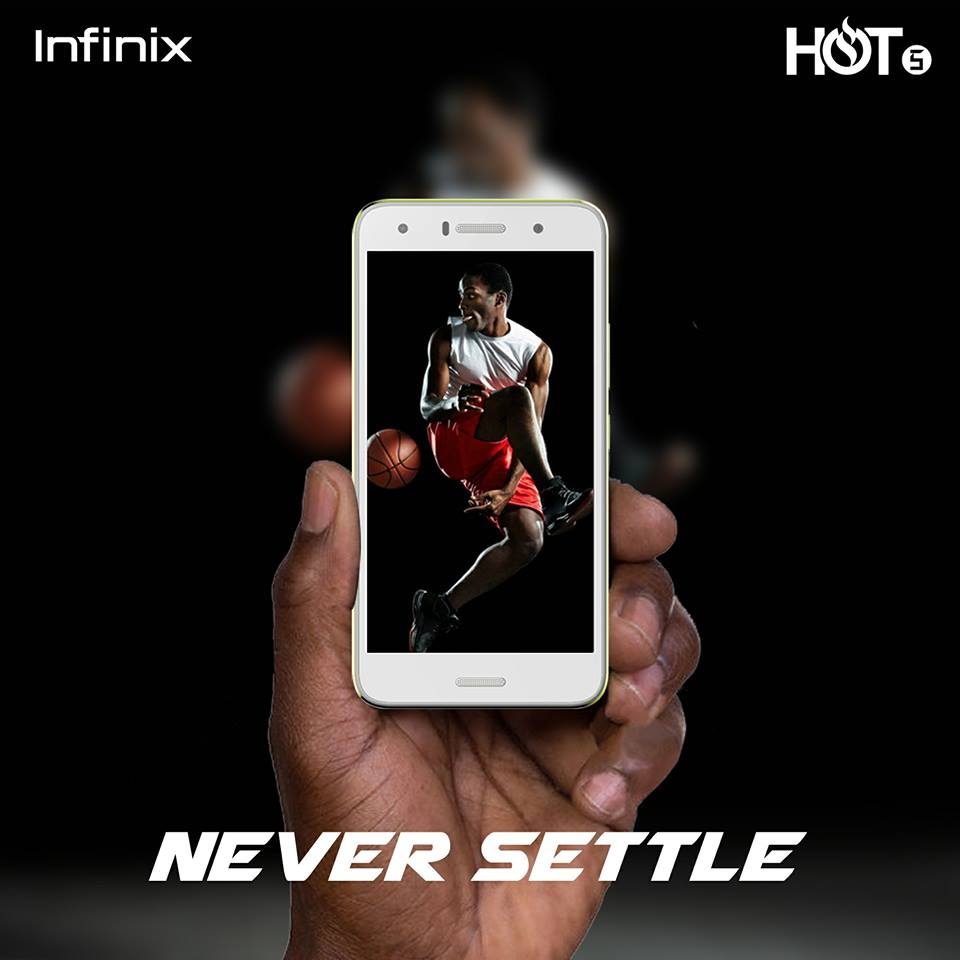 The Infinix HOT 5 also features a decent camera