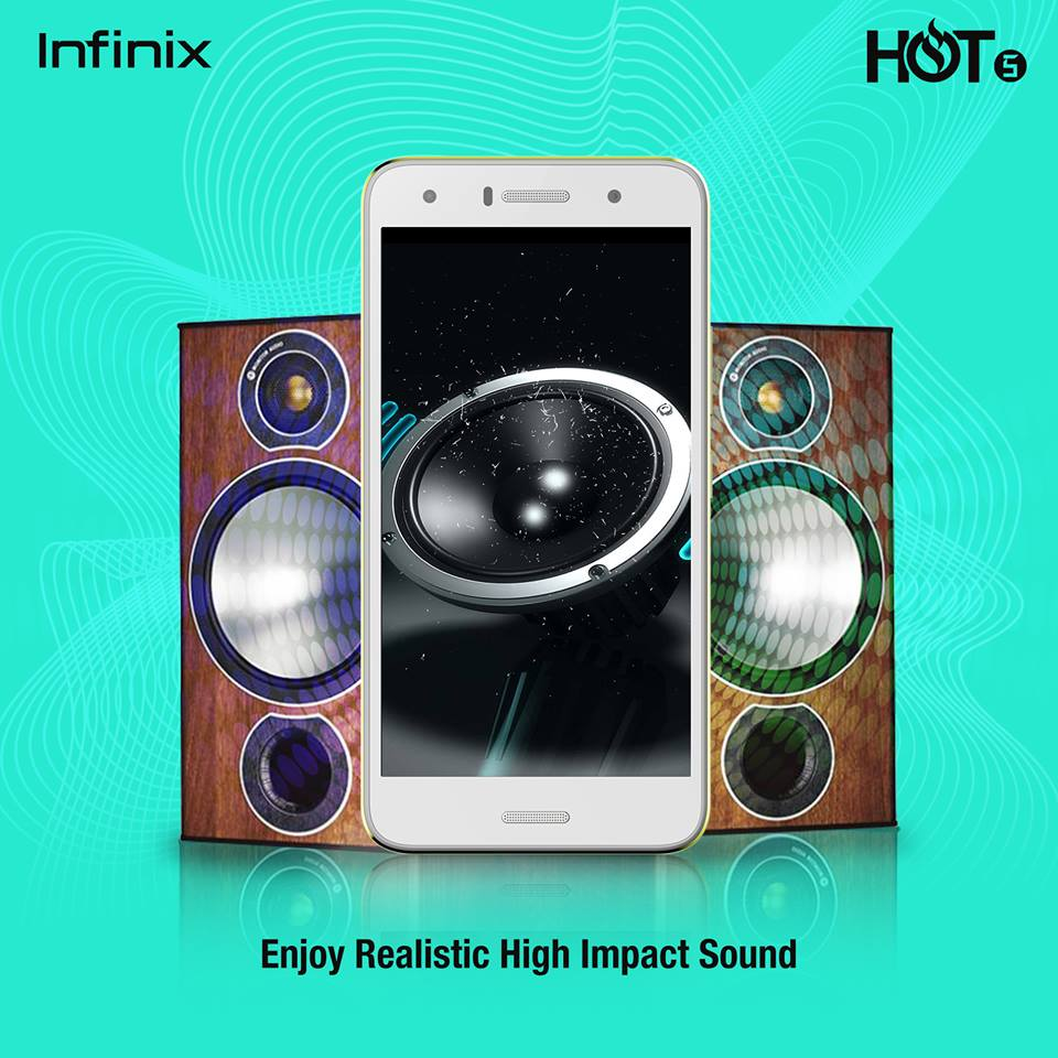 Enjoy Realistic High Impact Sound on the Infinix HOT5