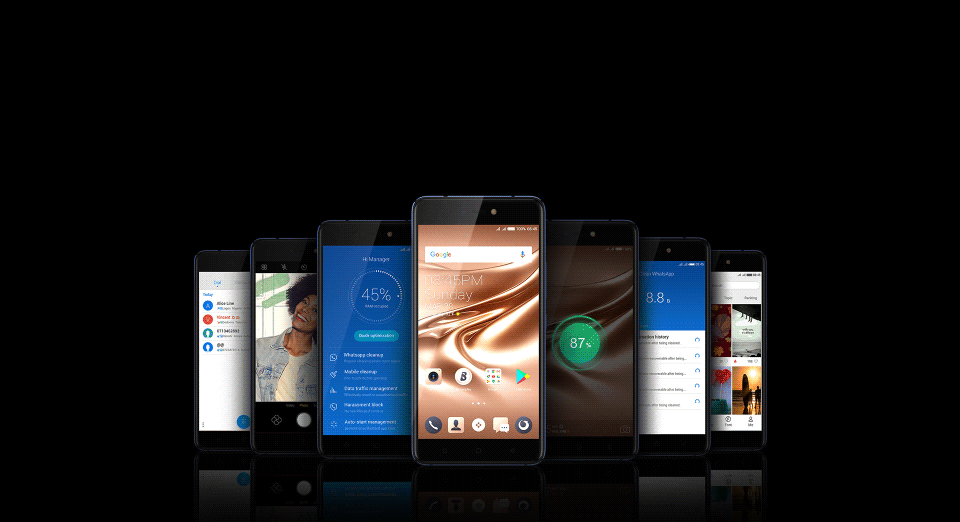 The Tecno Phantom 8 comes with Android 7