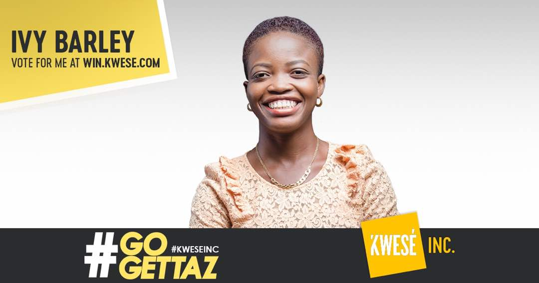 Help Ivy Barkley Win $100,000 in the Kwese Inc #GOGETTAZ Competition