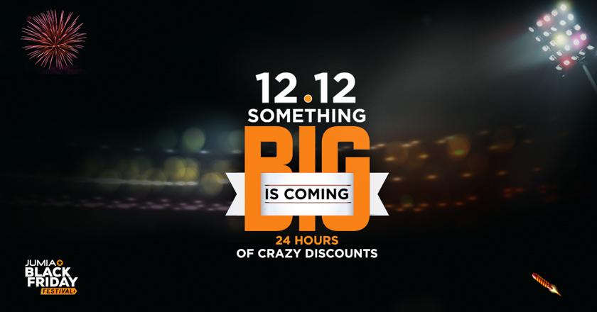 Black Friday's 12/12 is tomorrow! 12 Flash Sales + 12% Discount