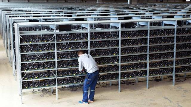 Bitcoin mining is so profitable that people and organisations have set up mining farms.