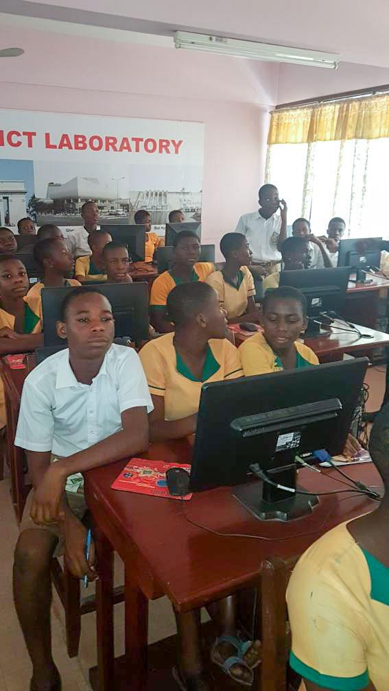 Vodafone Ghana and J Initiative take students through Digital Literacy and Safety Session in Ho