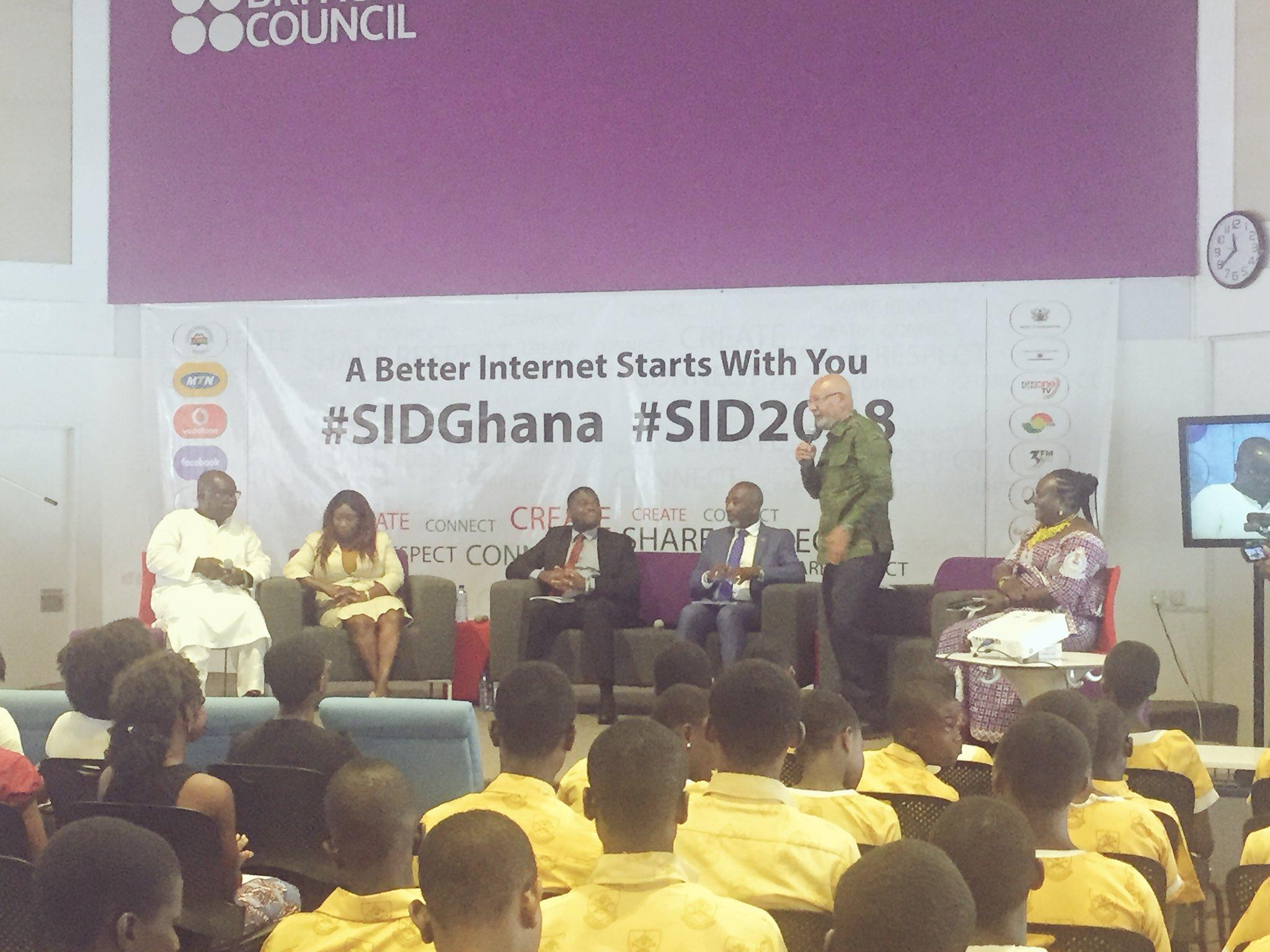 J Initiative celebrates Safer Internet Day 2018 in all 10 Regions of Ghana