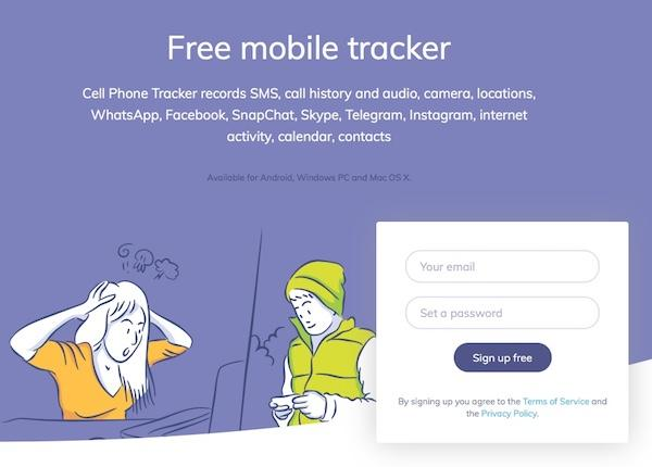 Parental Control using a simple phone tracker