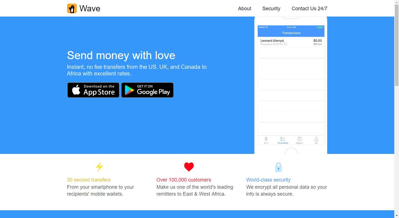 Wave Money Transfer: Send Mobile Money To Ghana, Nigeria, Kenya