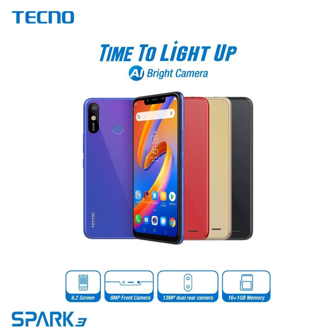TECNO Spark 3 (2019): Price, Specs, Features and Best deals